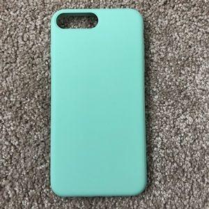 iPhone 7 plus blue case ✨